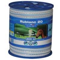 RUBAN RUBLANC 2 CM/200